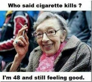 cigarette kills
